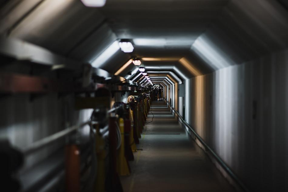 Инжекционный комплекс ВЭПП 5 канал транспортировки частиц. Автор Светлана Ерыгина