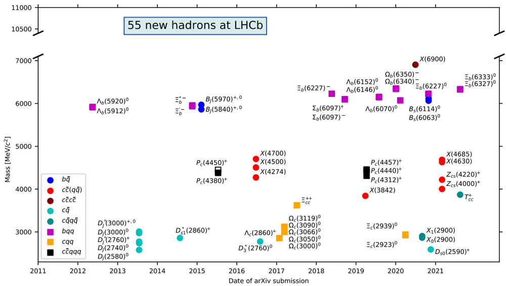 P. Koppenbug New Particles discovered at the LHC
