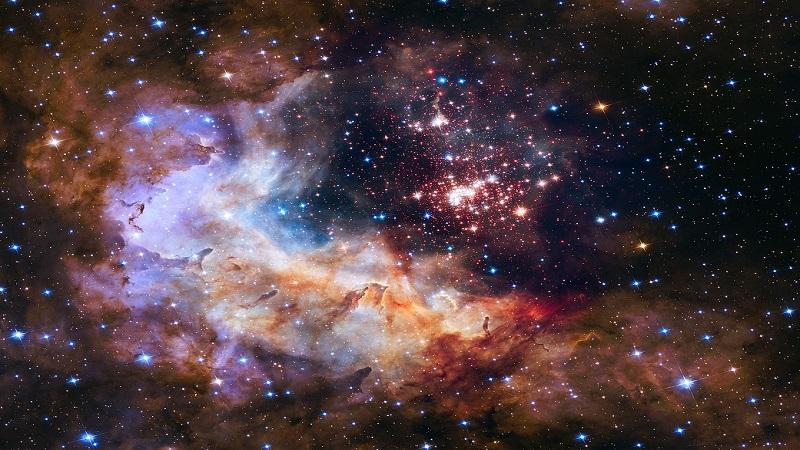 nasa звездное небо